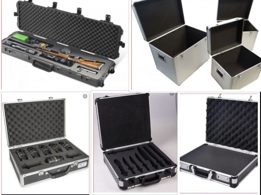 Foam Packaging for Aluminium cases